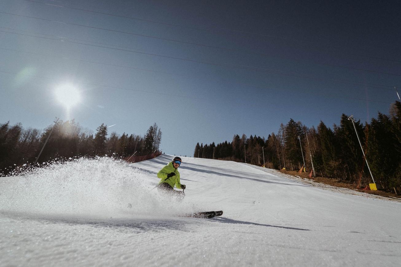 28 Višarje snowboard izlet smučanje Svete Monte Lussari