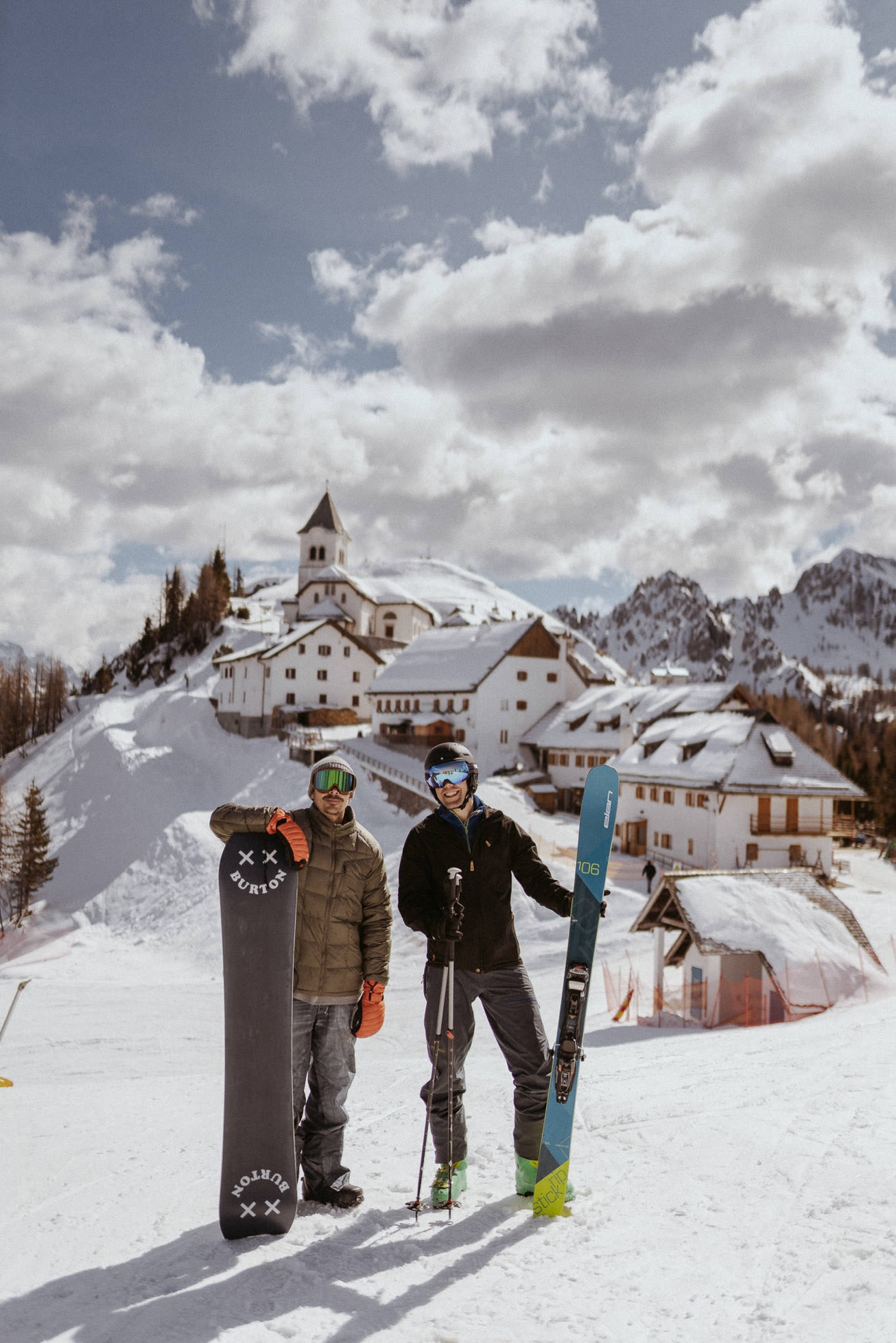 30 Višarje snowboard izlet smučanje Svete Monte Lussari